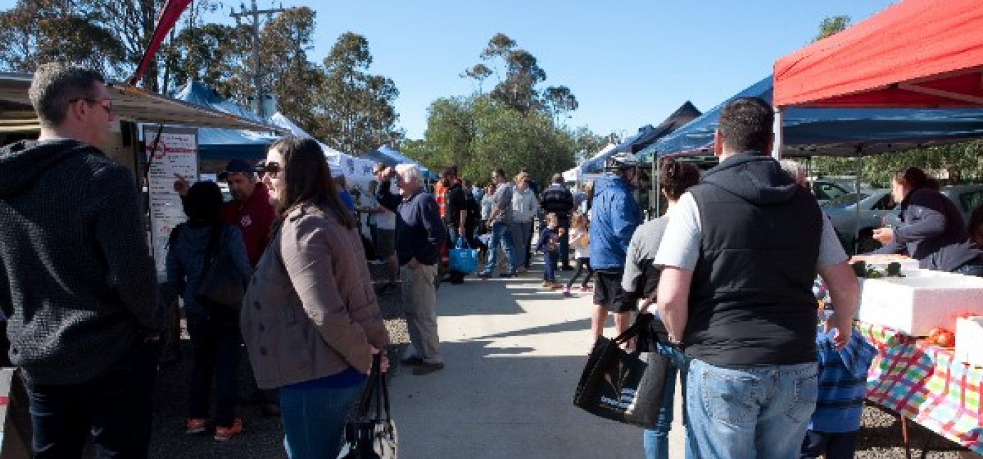 No Plastic Bags at Golden Plains Farmers Market